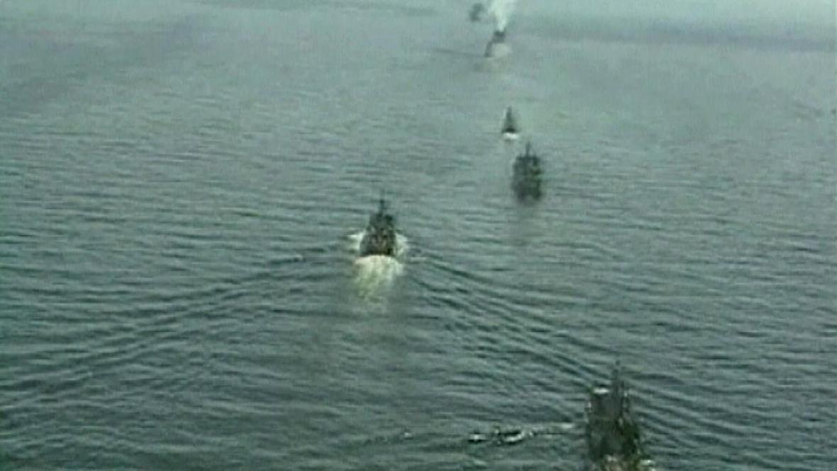 Ruská plavidla míří do Středomoří