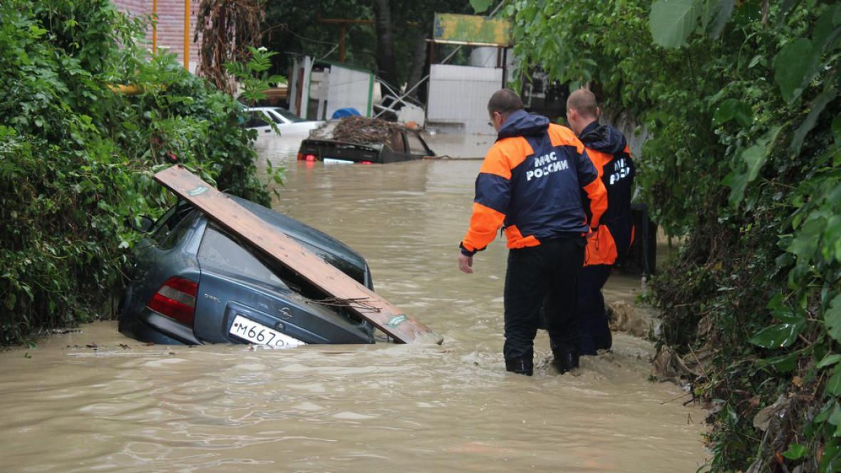 Povodně v Krasnodarském kraji