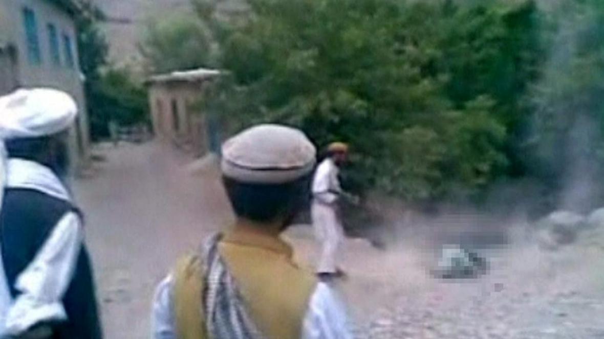 Poprava Afghánky