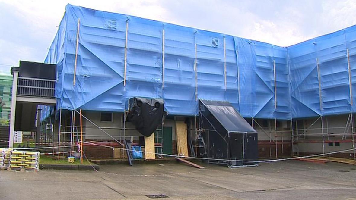 Rekonstrukce školní budovy