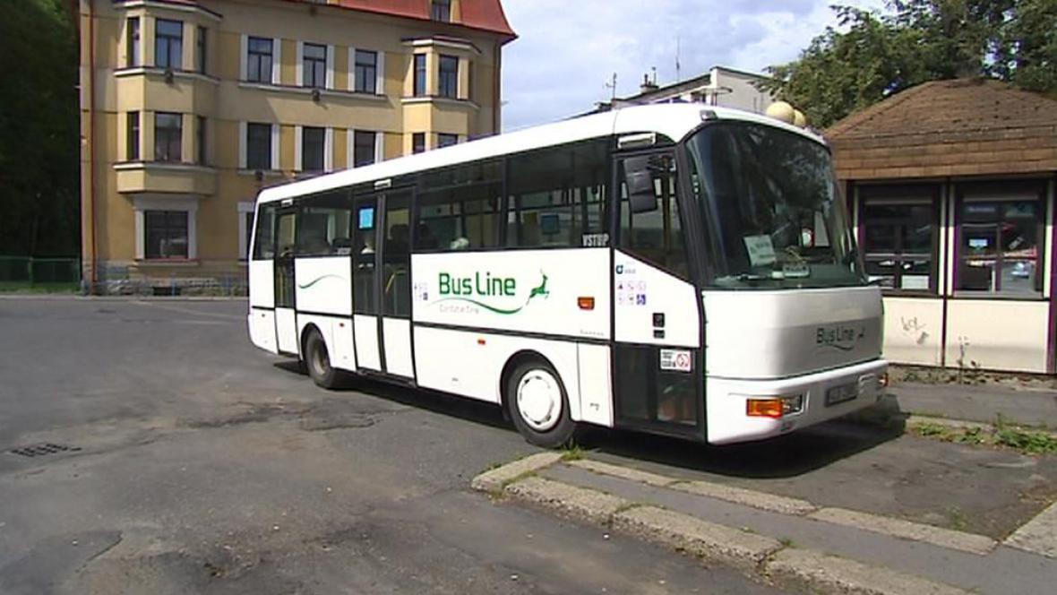 Autobusové nádraží v Železném Brodě