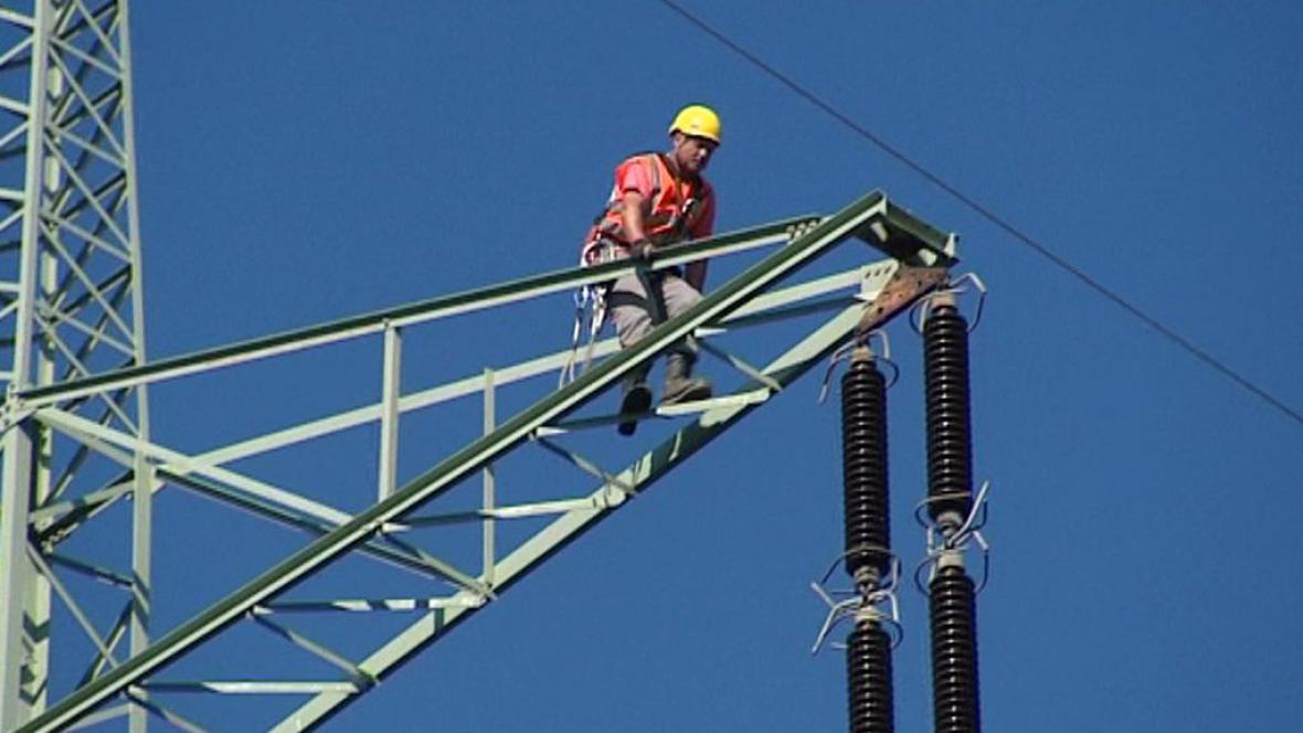 Údržba elektrického vedení
