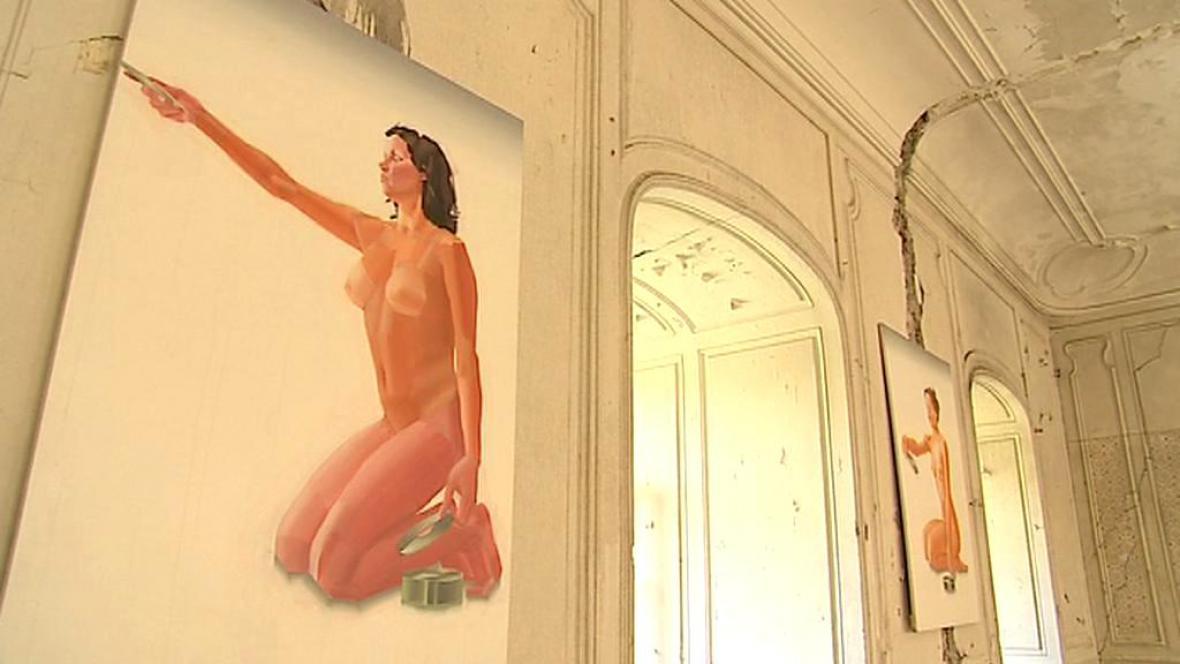 Moravský Krumlov láká na současné umění ze sbírky Marek