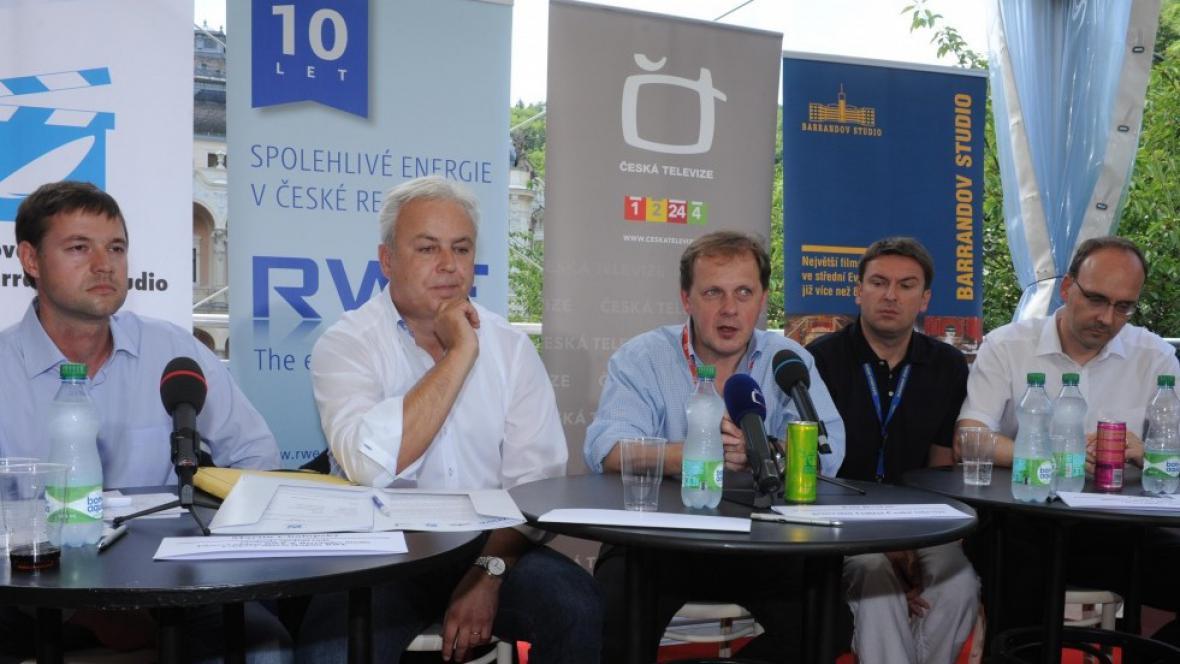 Vyhlášení vítězů výběrového řízení Filmové nadace RWE & Barrandov Studio
