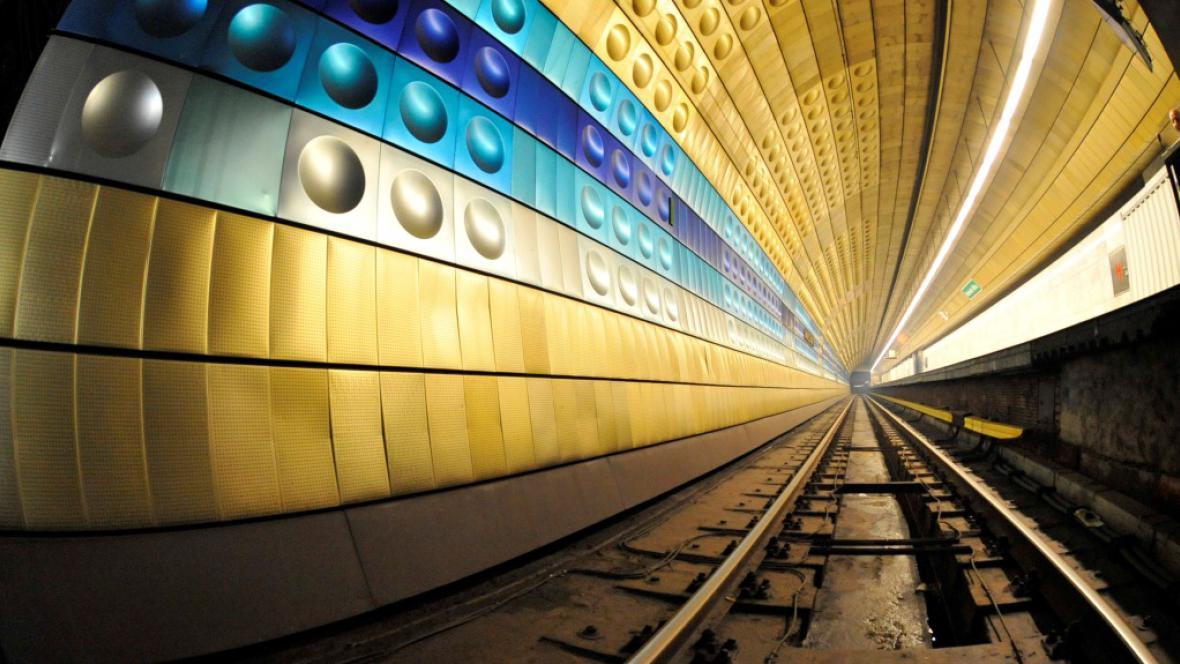 Stanice linky A Náměstí Míru