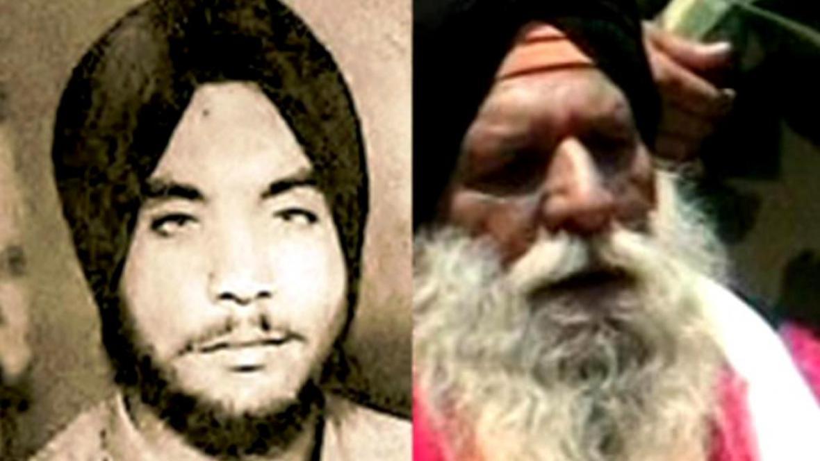 Surdžit Singh před třiceti lety a dnes