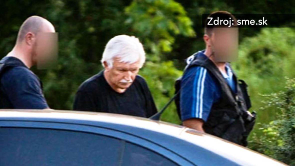 Zatčení rektora Václava Krajníka