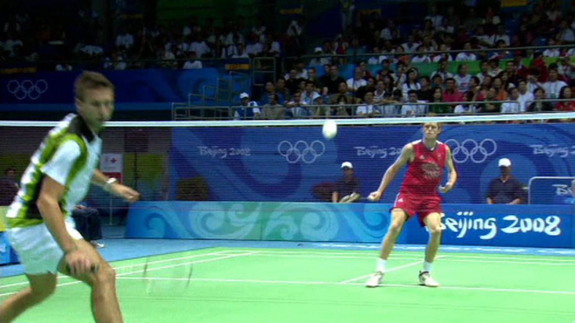 Badmintonista Koukal