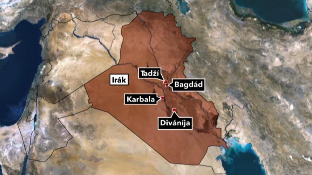 Výbuchy v Iráku