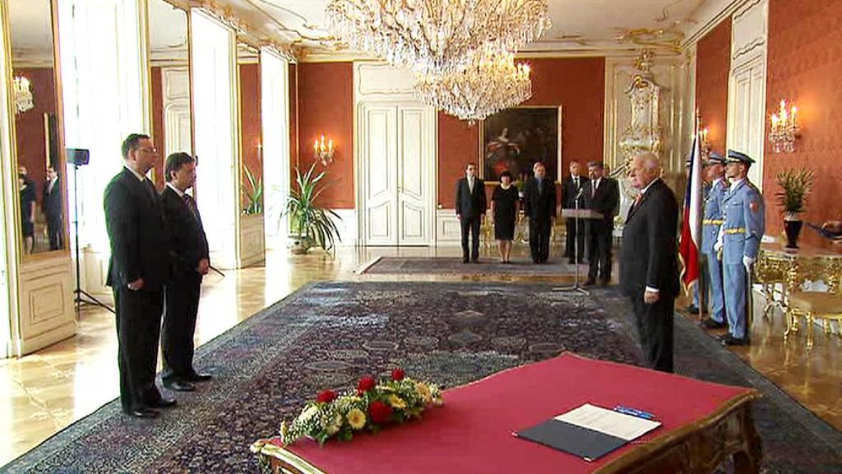 Slavnostní akt na Pražském hradě