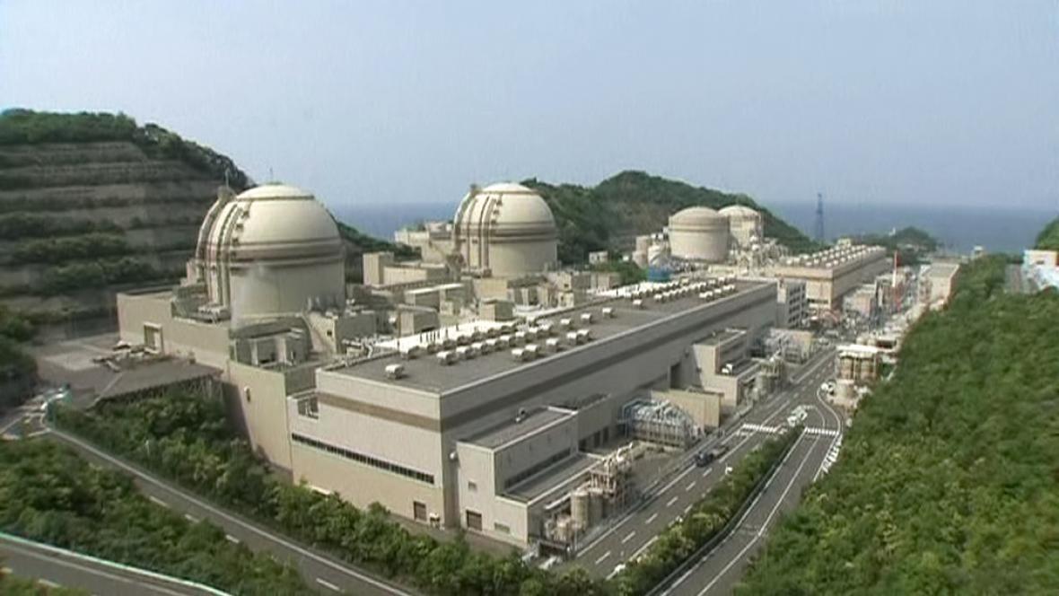 Jaderná elektrárna v Japonsku
