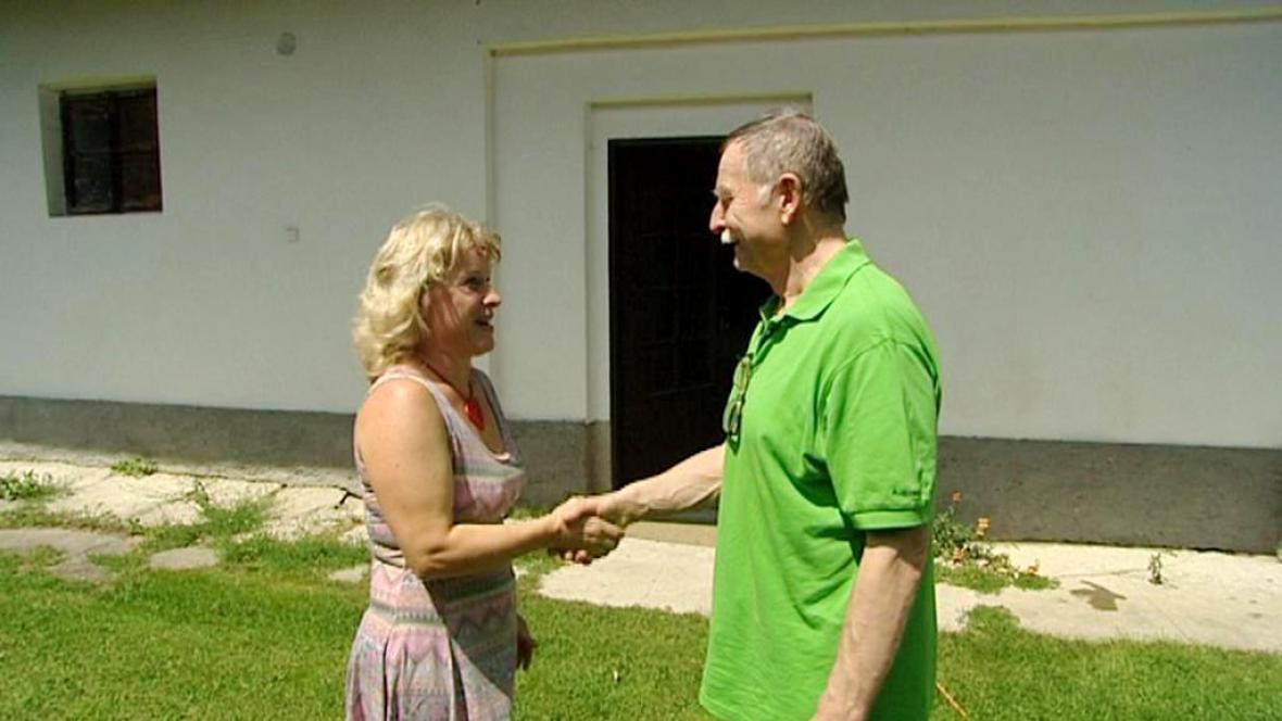 Přivítání Petra Ondráčka zpátky v Mokré