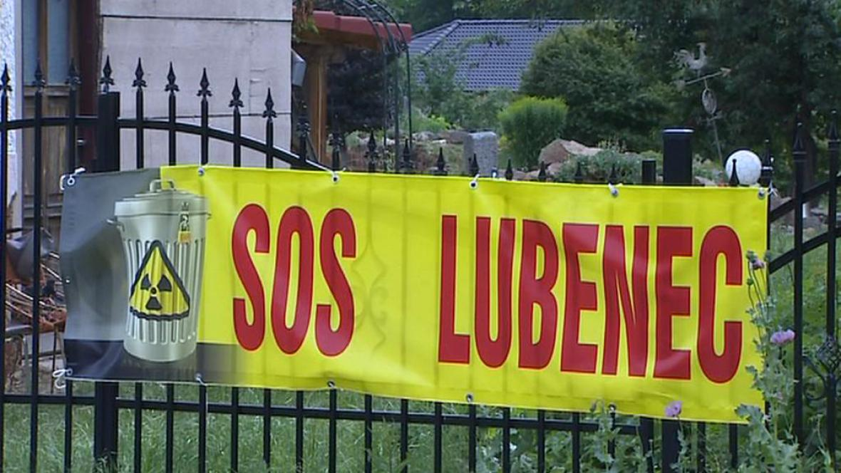 Protest proti jadernému úložišti