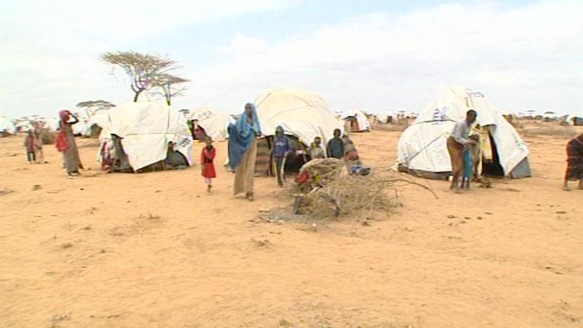 Uprchlický tábor v Dadaabu
