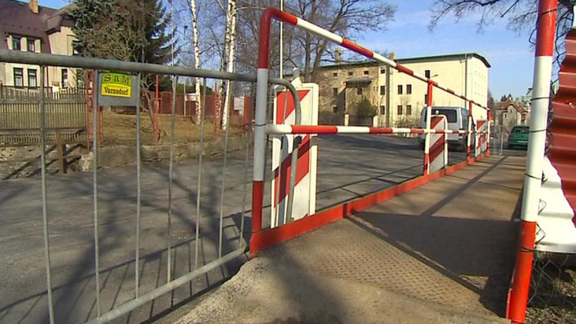 Oprava mostů v Rumburku