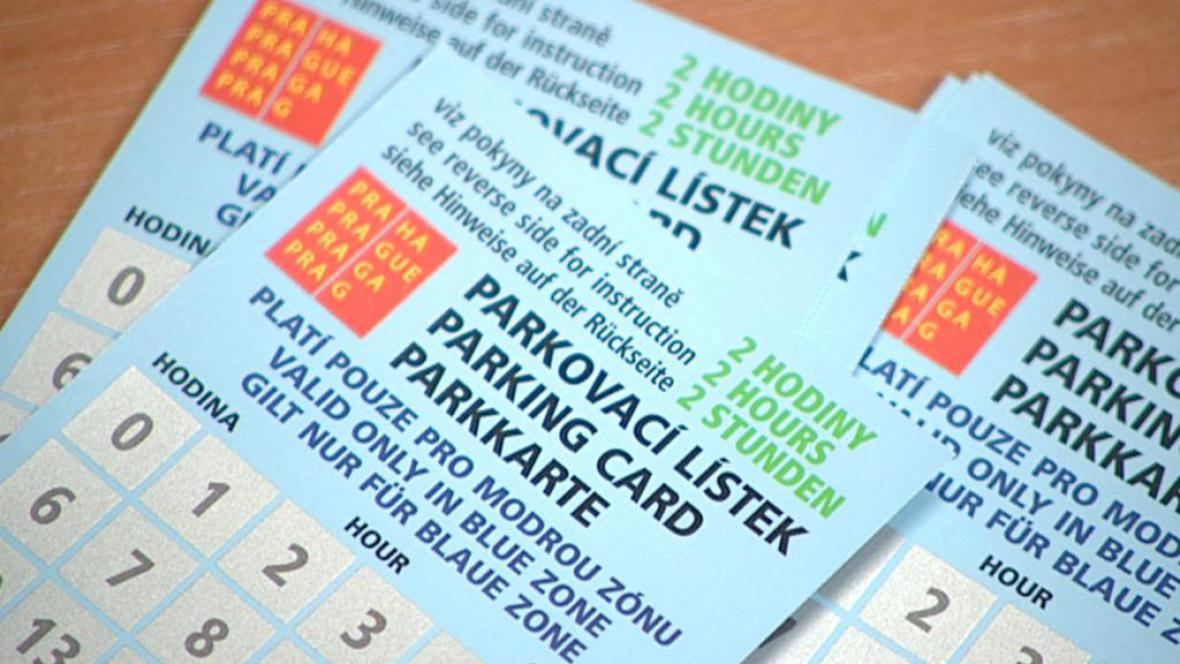 Parkovací lístky