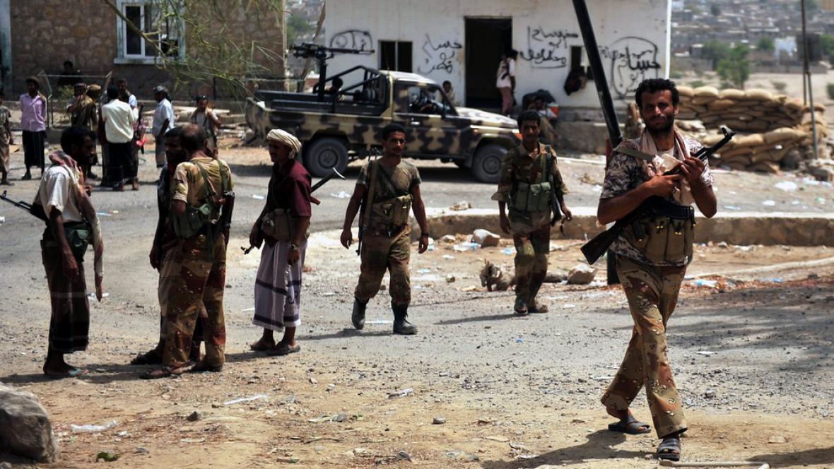 Boj proti teroristům z al-Káidy v Jemenu