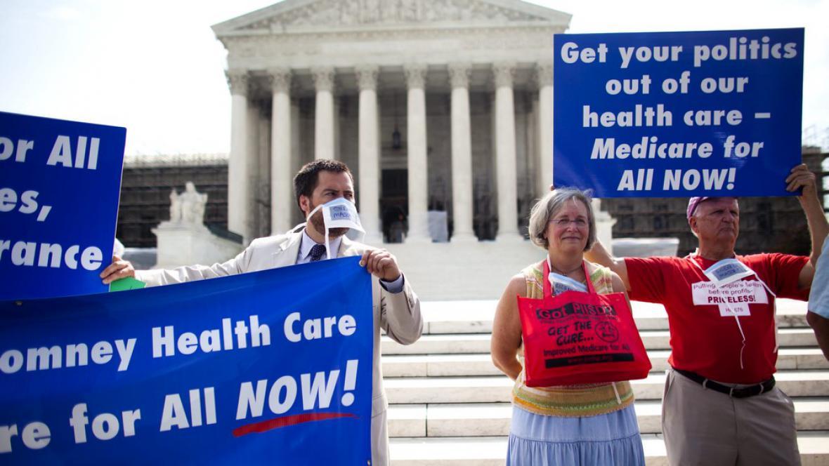 Protesty proti Obamově zdravotní reformě