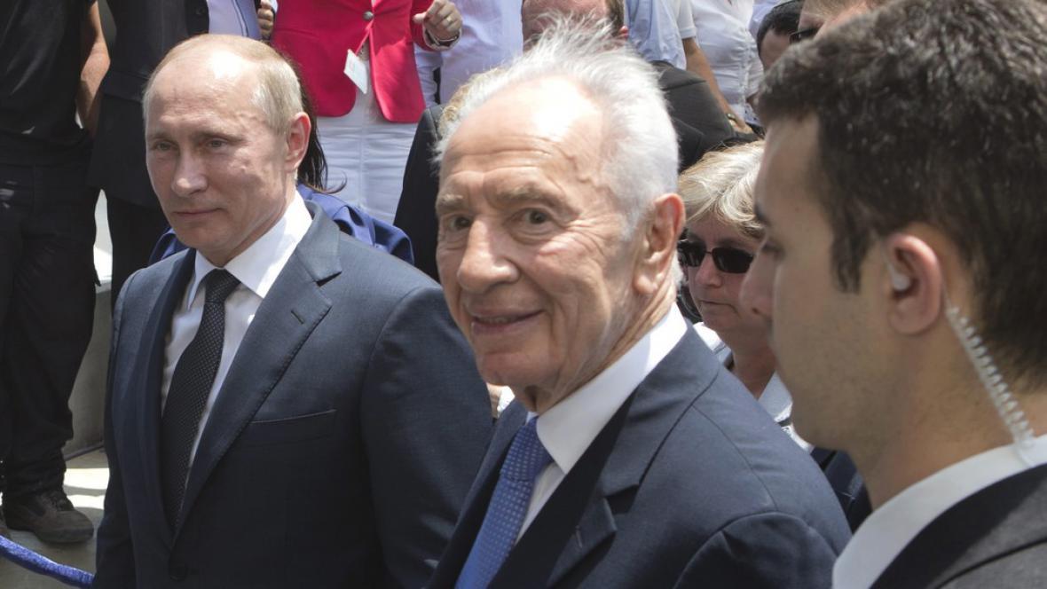 Ruský prezident Vladimir Putin v Izraeli