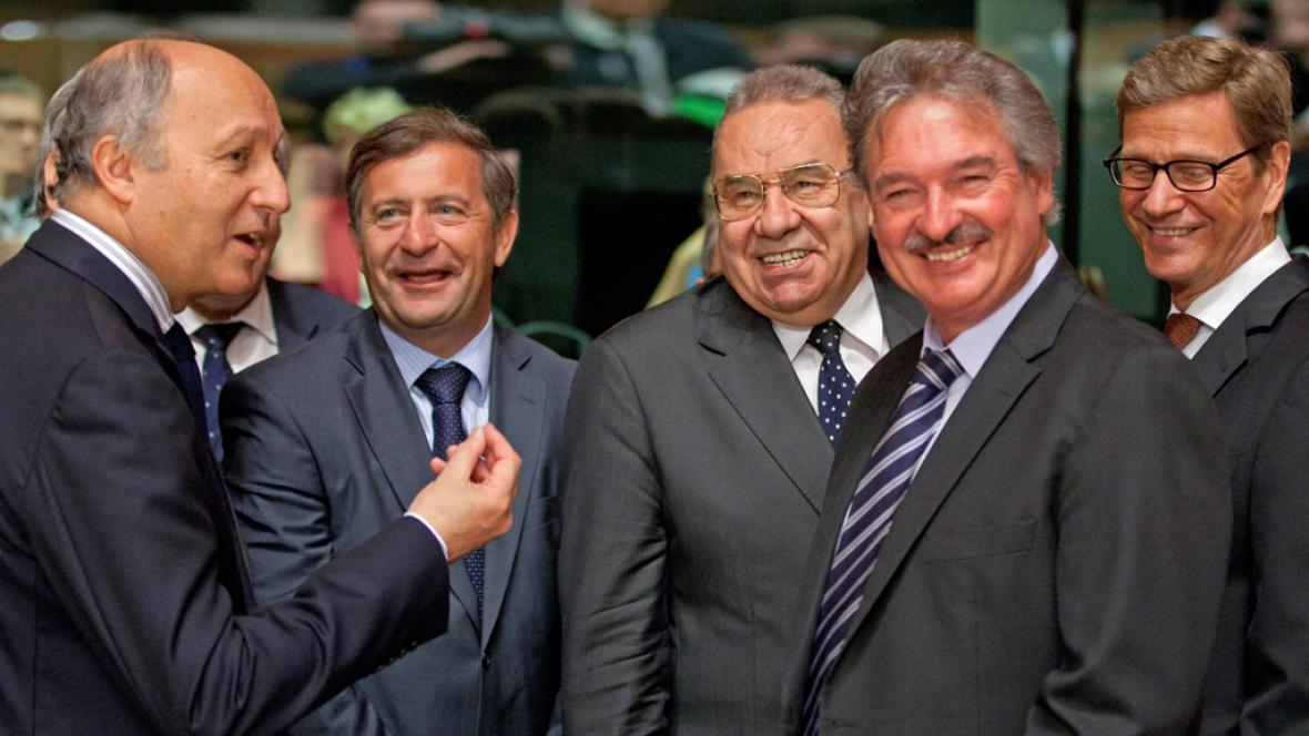 Schůzka ministrů zahraničí EU v Lucemburku