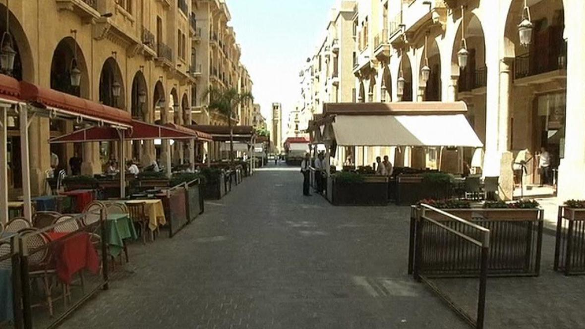 V Bejrútu je málo turistů