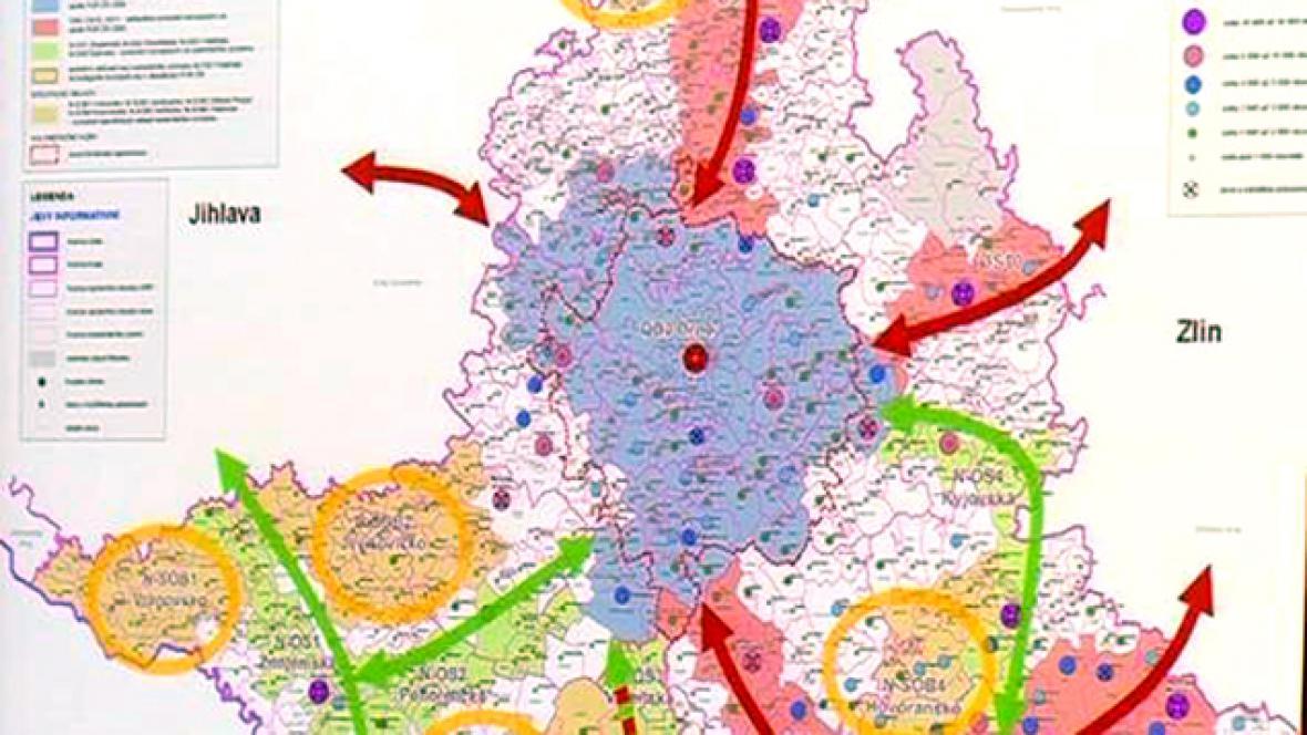 Příprava nového územního plánu JMK