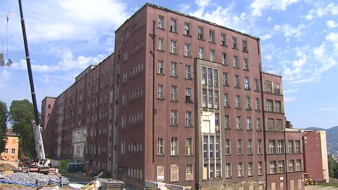 Budova bývalé porodnice v Ústí nad Labem