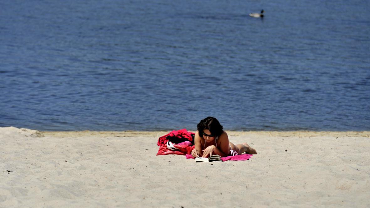 Léto na Máchově jezeře