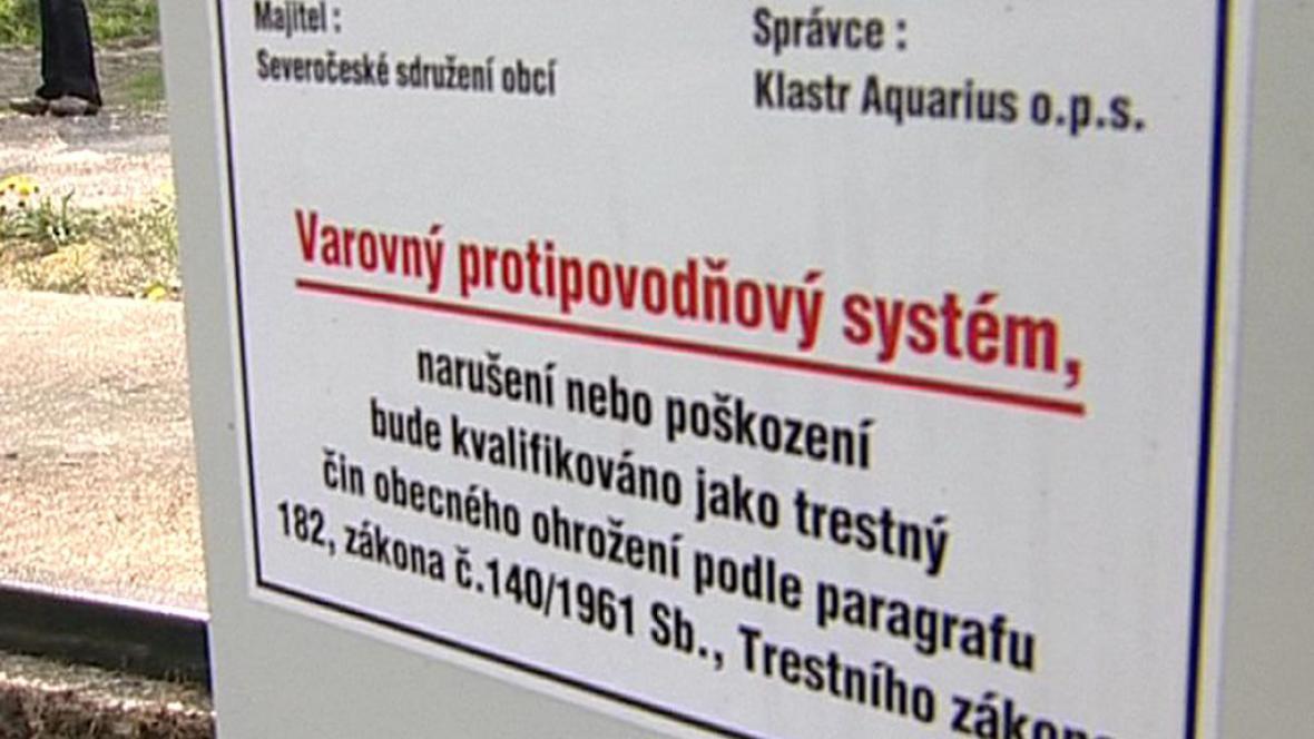 Varovný protipovodňový systém