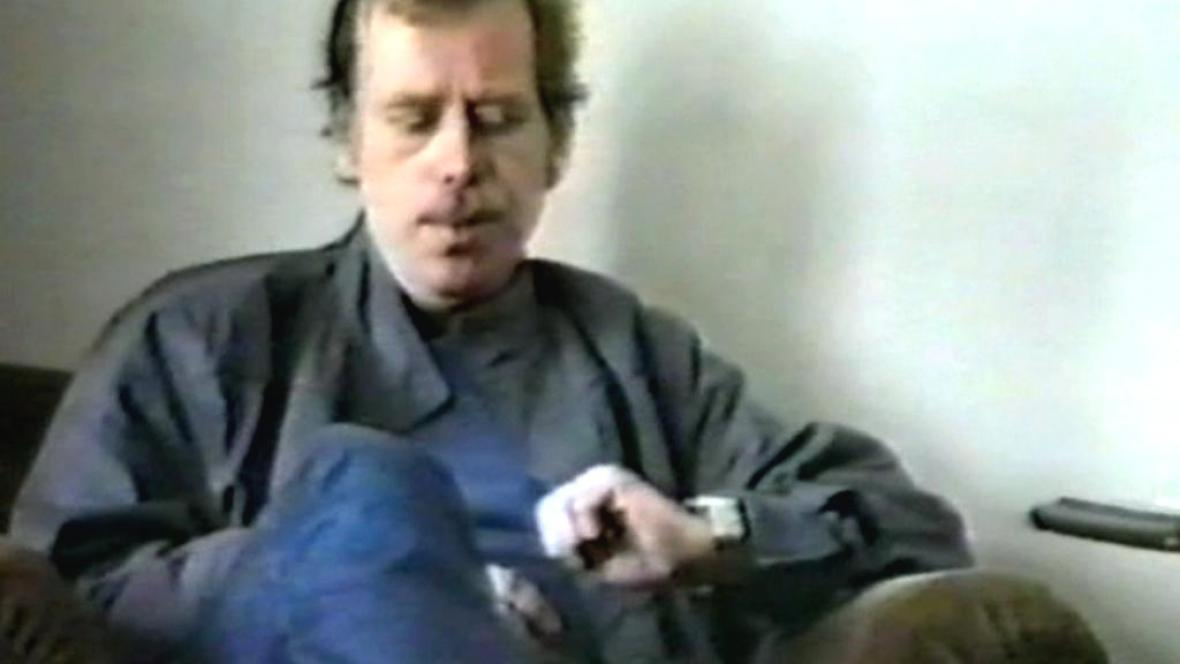 Václav Havel v italském dokumentu