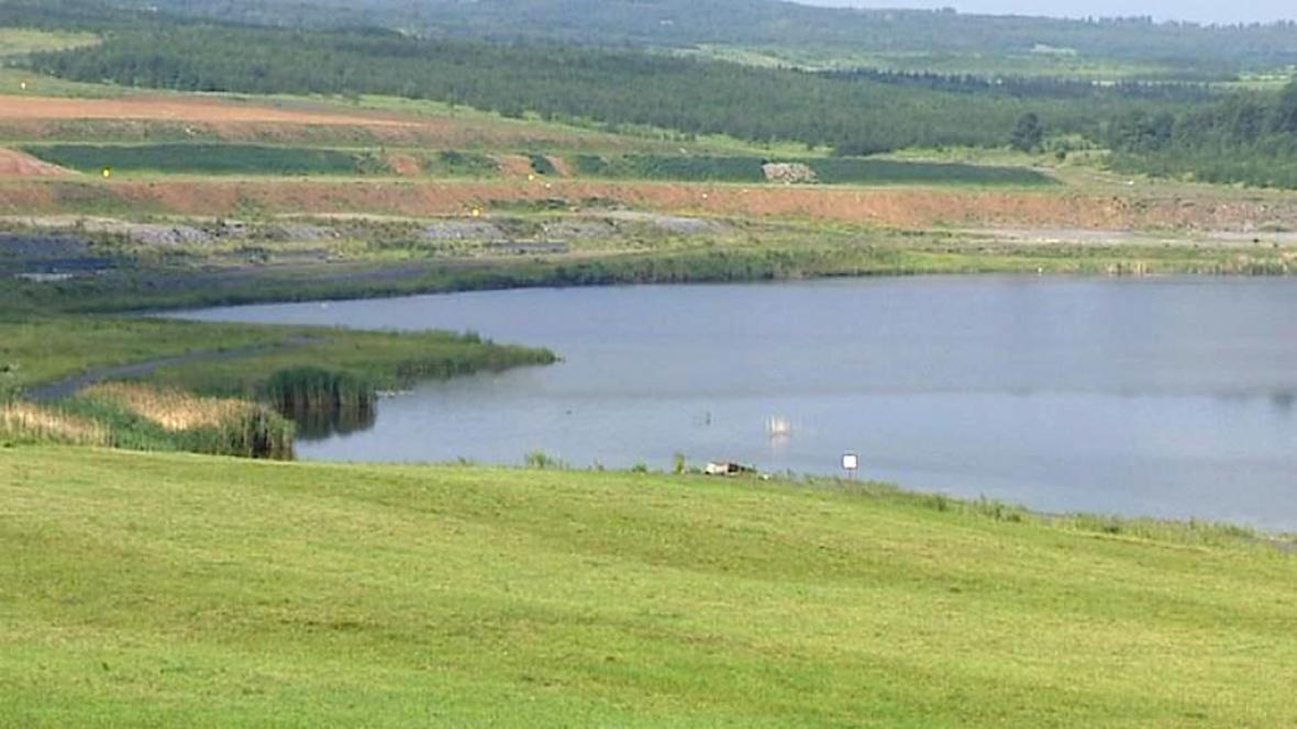 Jezero Milada na Ústecku