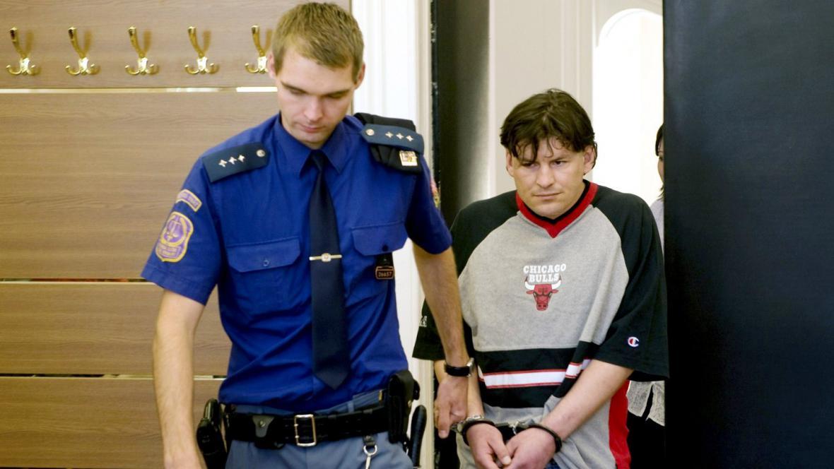 Obžalovaný Michal Šeda u soudu