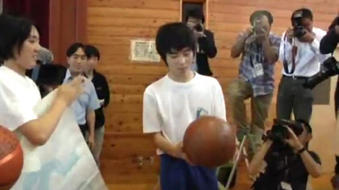 Do Japonska se vrátil míč