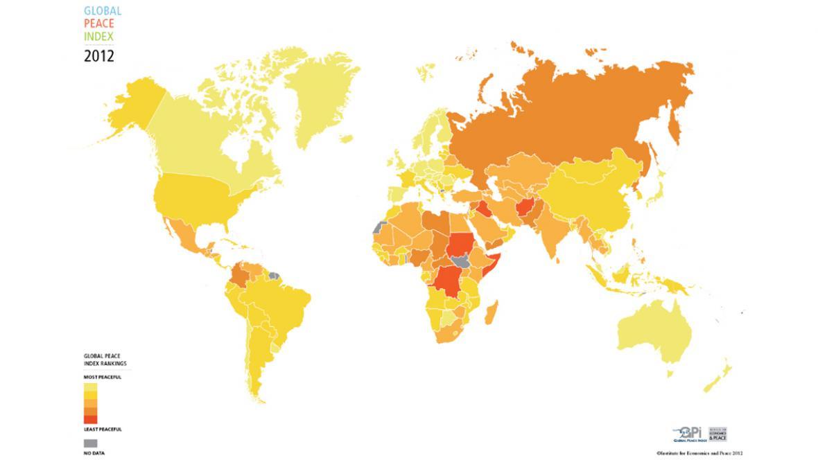 Světový mírový index 2012
