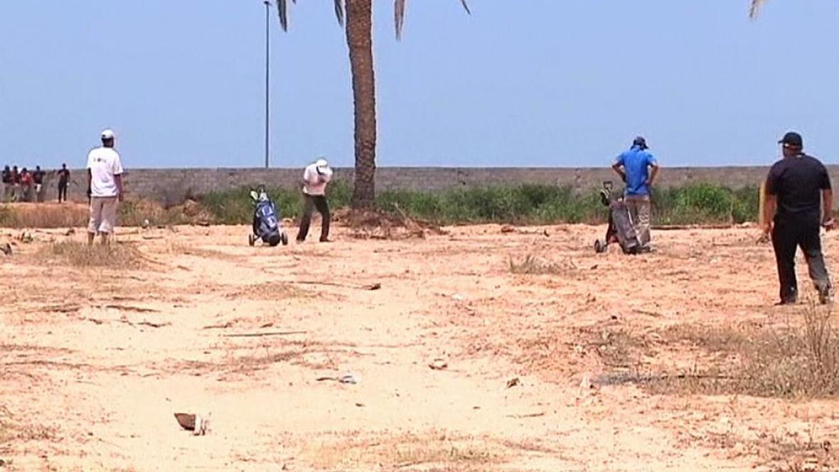 Golfový turnaj v Libyi