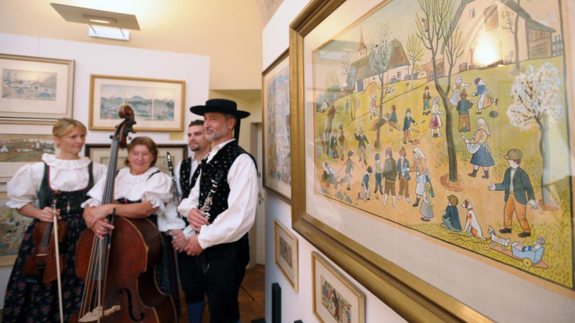 Výstava děl Josefa Lady byla zahájena