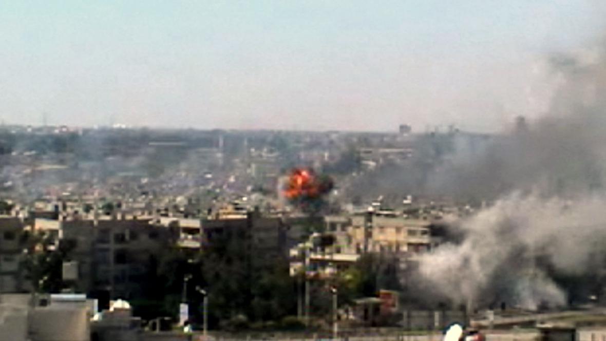 Útoky na město Homs