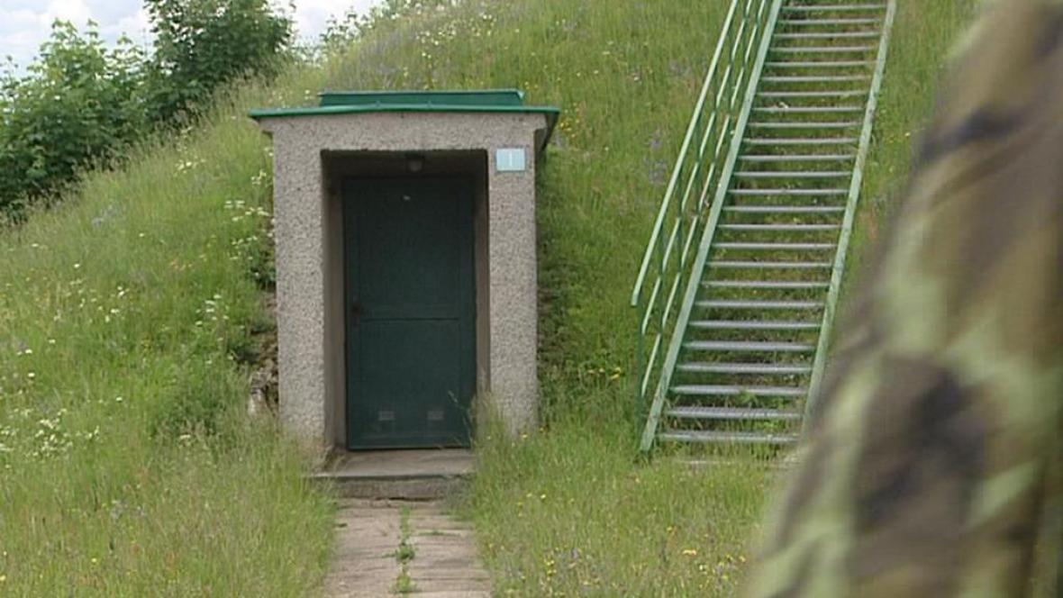 V bunkru se ukrývá seismická stanice