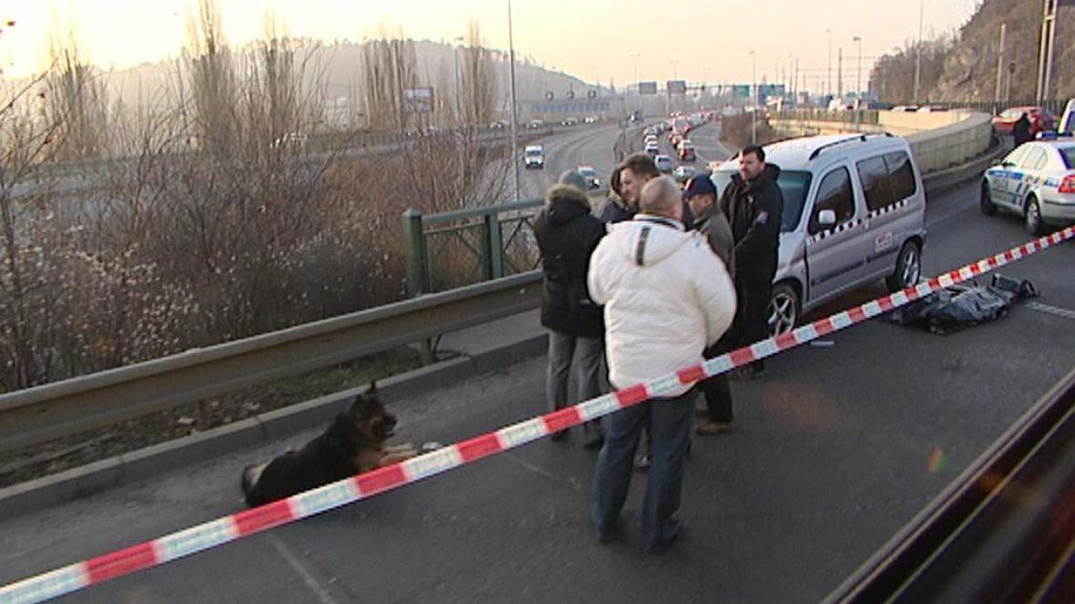 Střelba ve Strakonické ulici