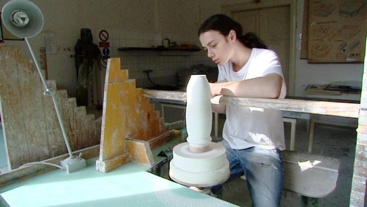 Učeň keramiky