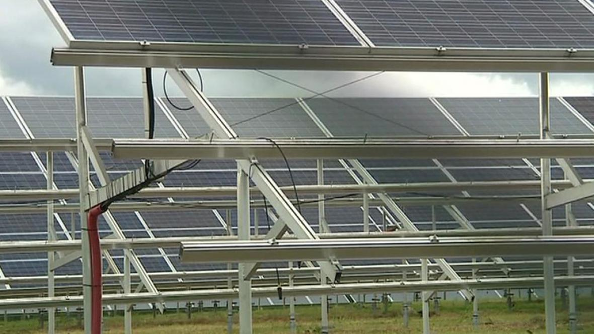 Zloději kradou fotovoltaické panely