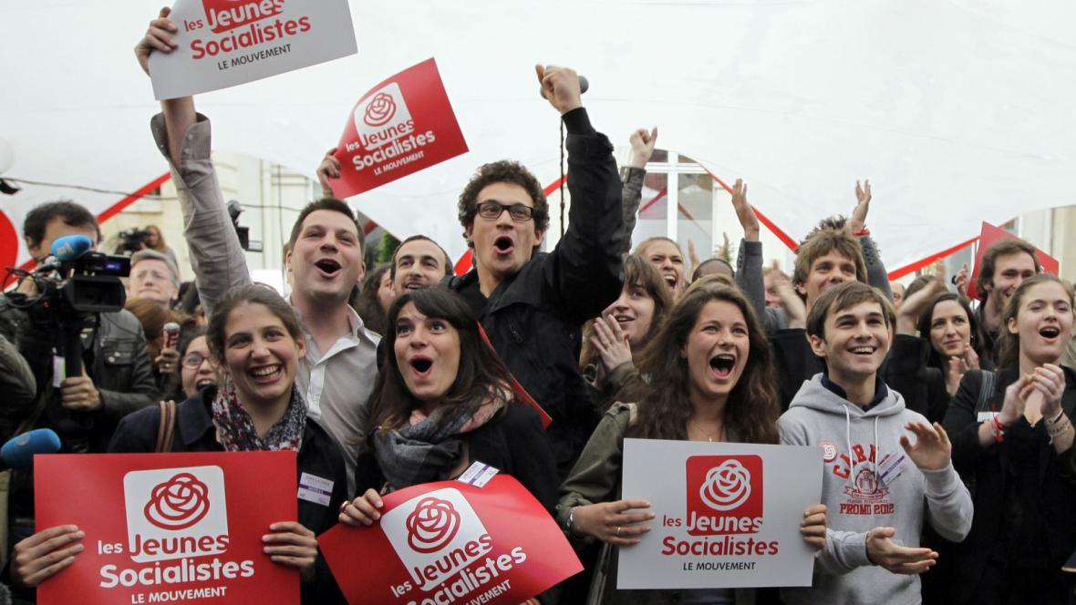 Příznivci francouzské Socialistické strany