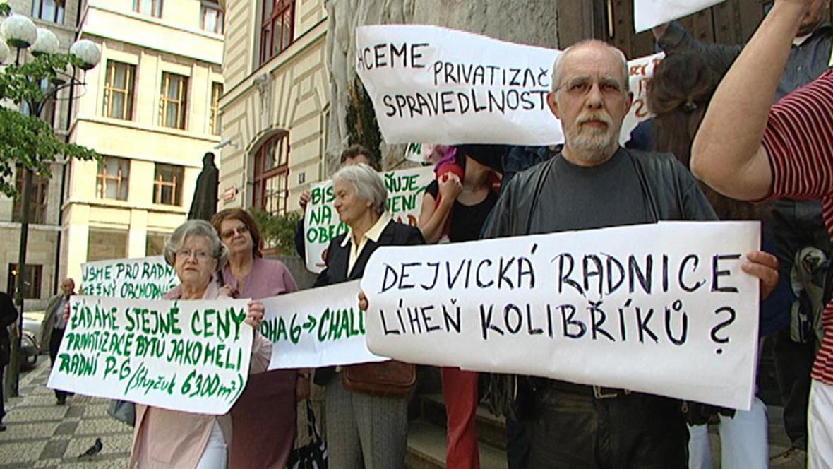 Nespokojení nájemníci z Prahy 6