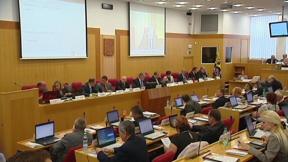 Zasedání krajského zastupitelstva Moravskoslezského kraje