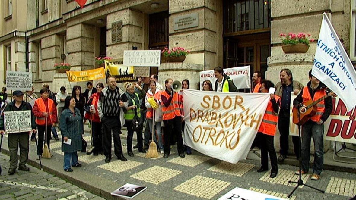 Protest proti reformám