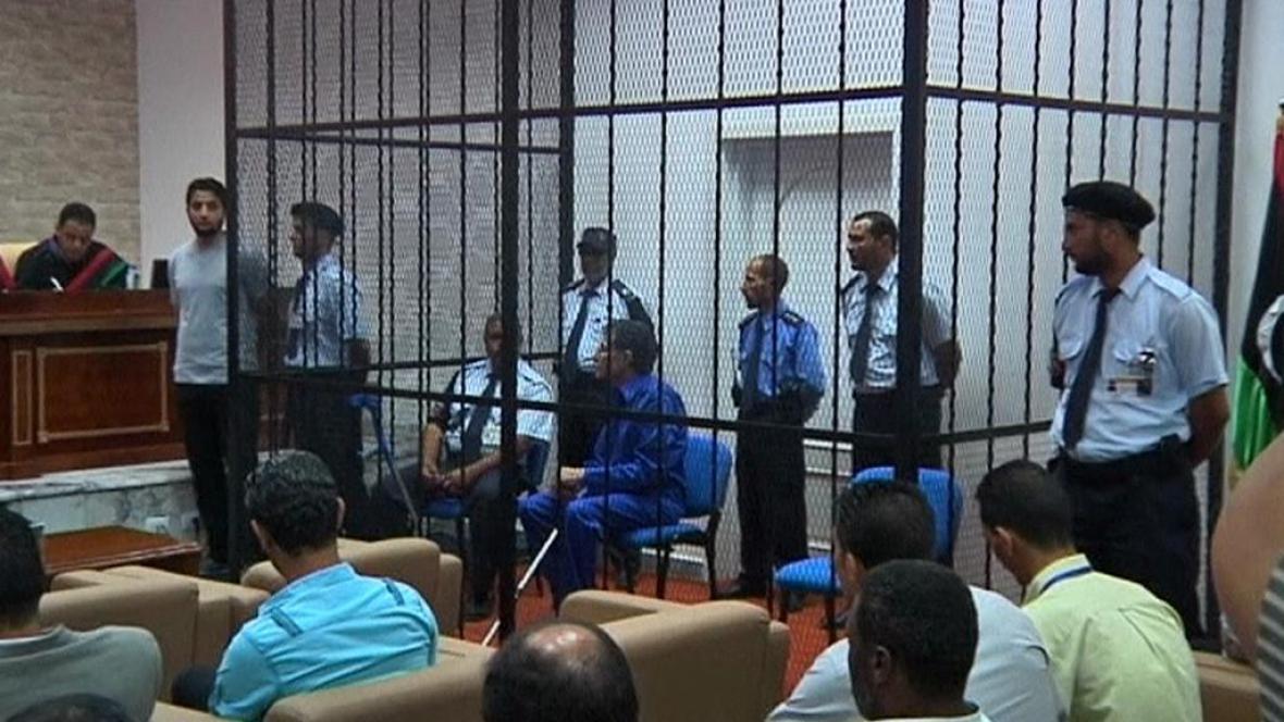 Abú Zajd Umar Durdá před soudem