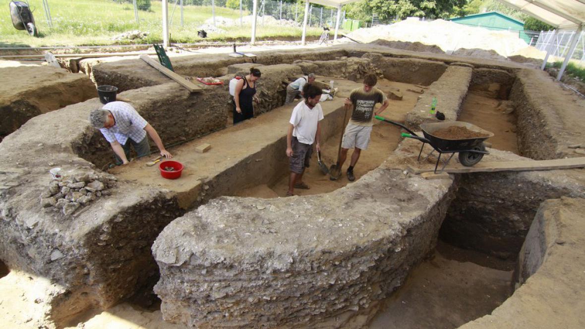 Archeologický výzkum v Mikulčicích
