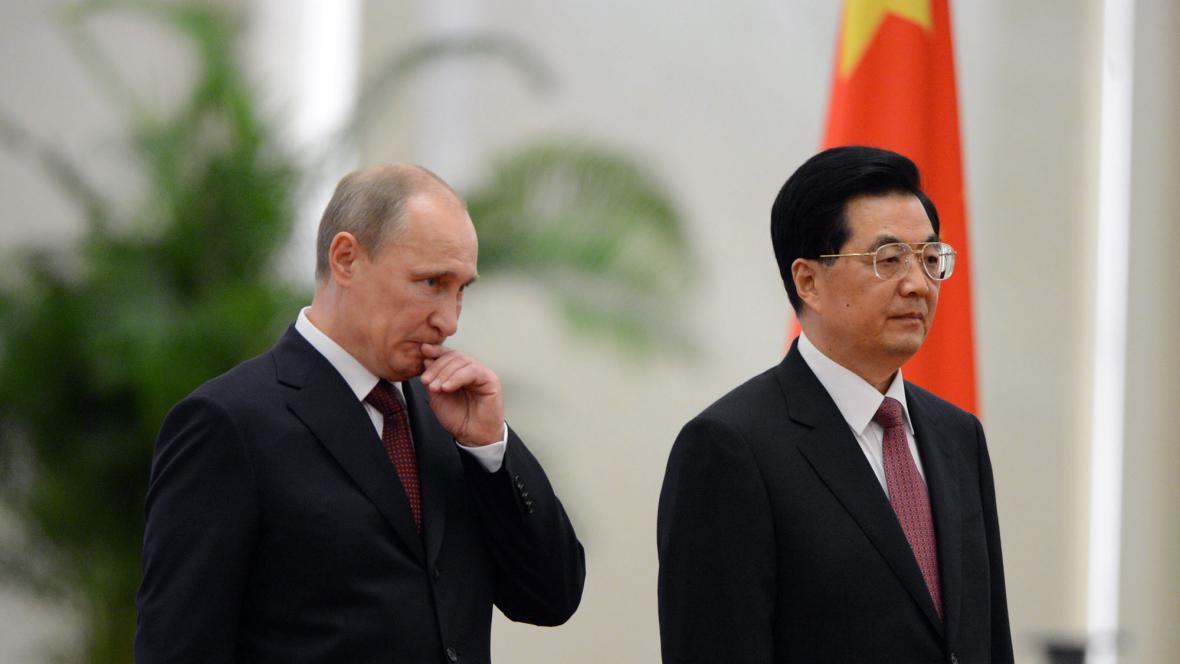 Vladimir Putin a Chu Ťin-Tchao