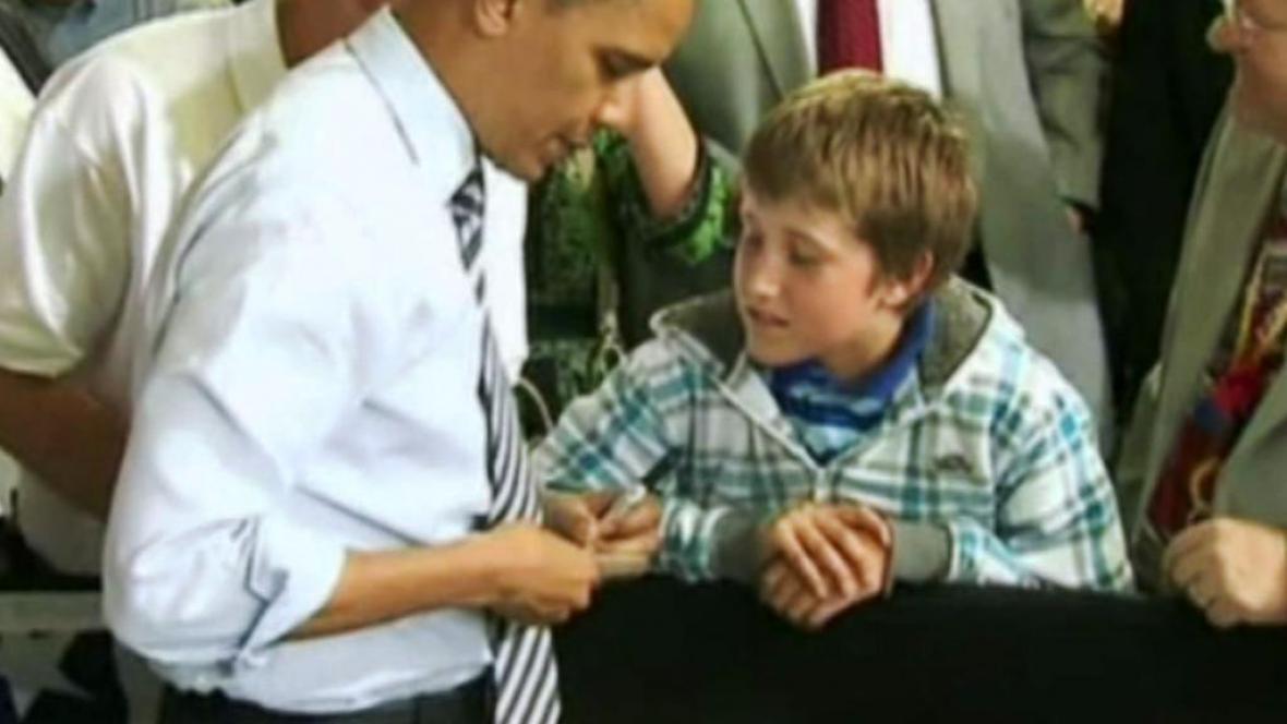 Barack Obama píše omluvenku