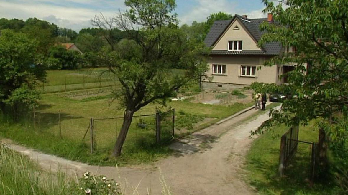 Pozemek a dům rodiny Konvičkových